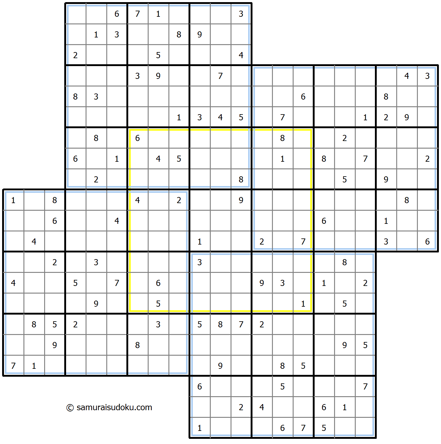 Windmill Sudoku 5-September-2020