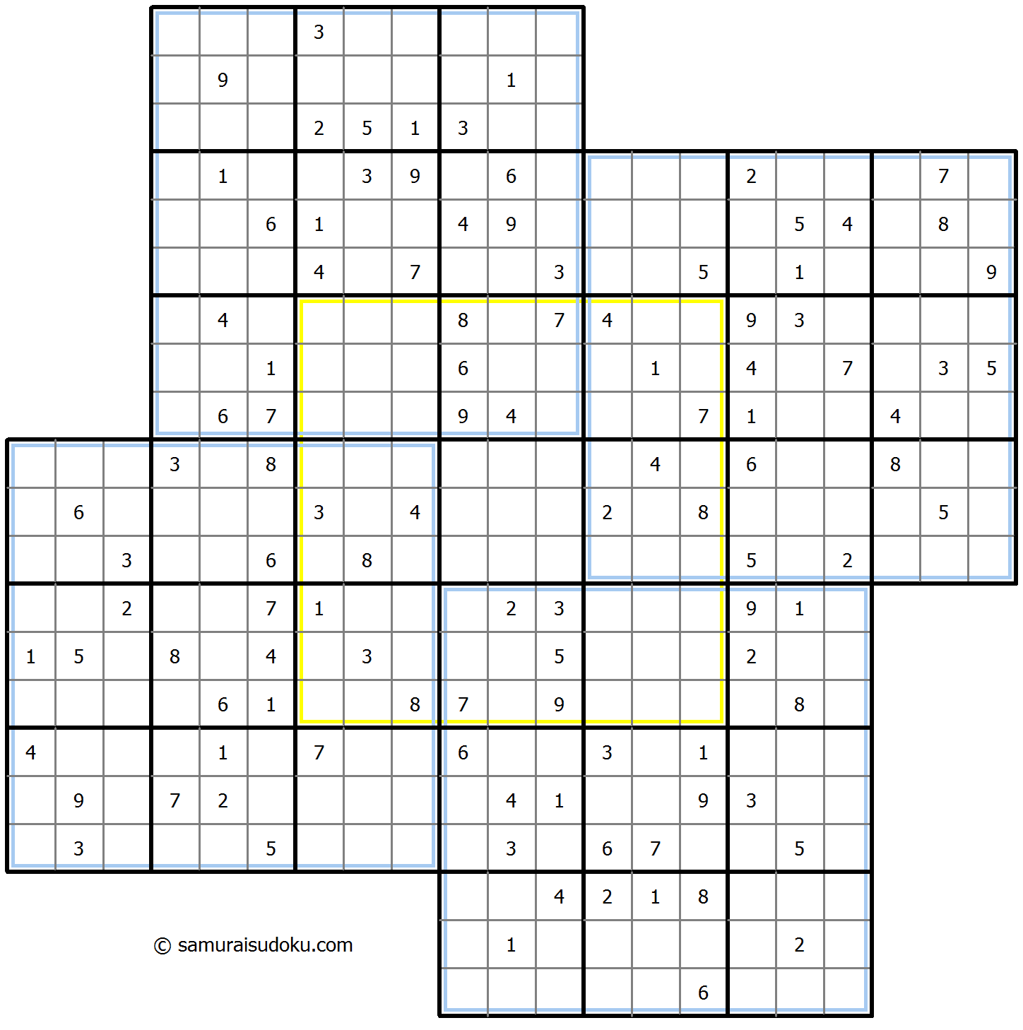 Windmill Sudoku 26-August-2020