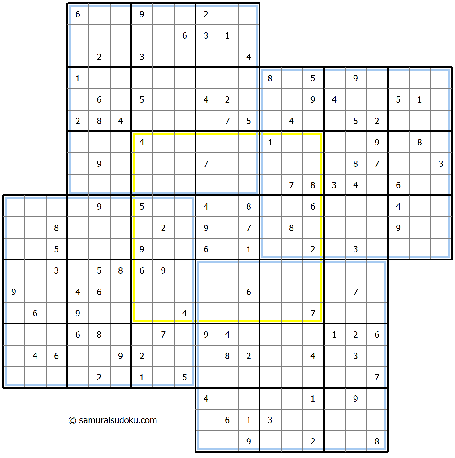 Windmill Sudoku 17-August-2020
