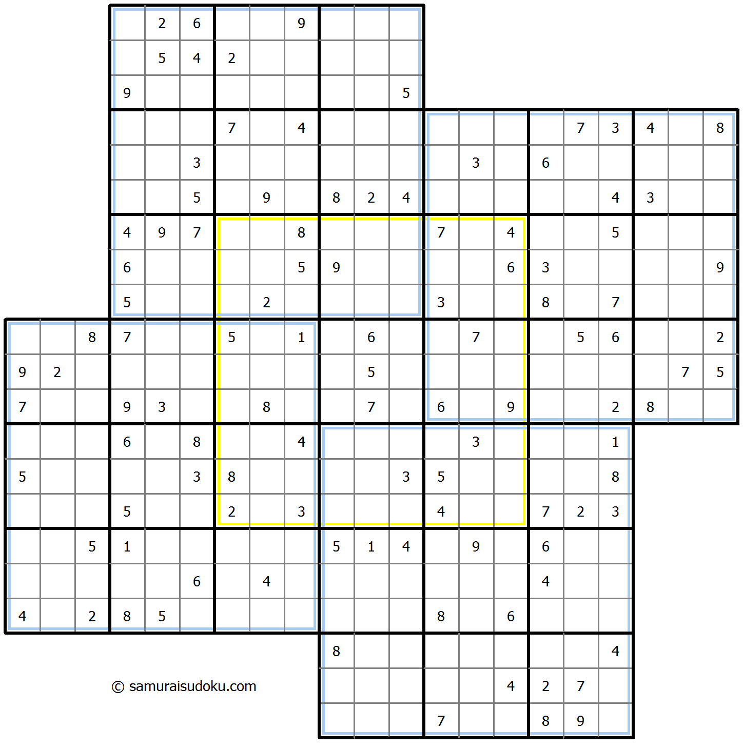 Windmill Sudoku 10-January-2021