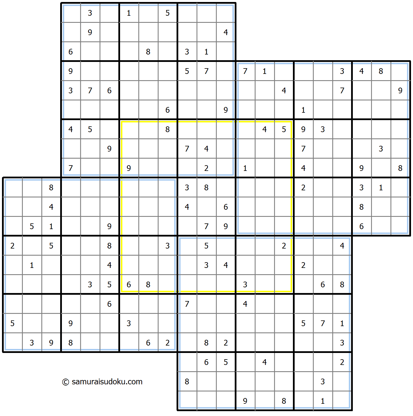 Windmill Sudoku 1-September-2020