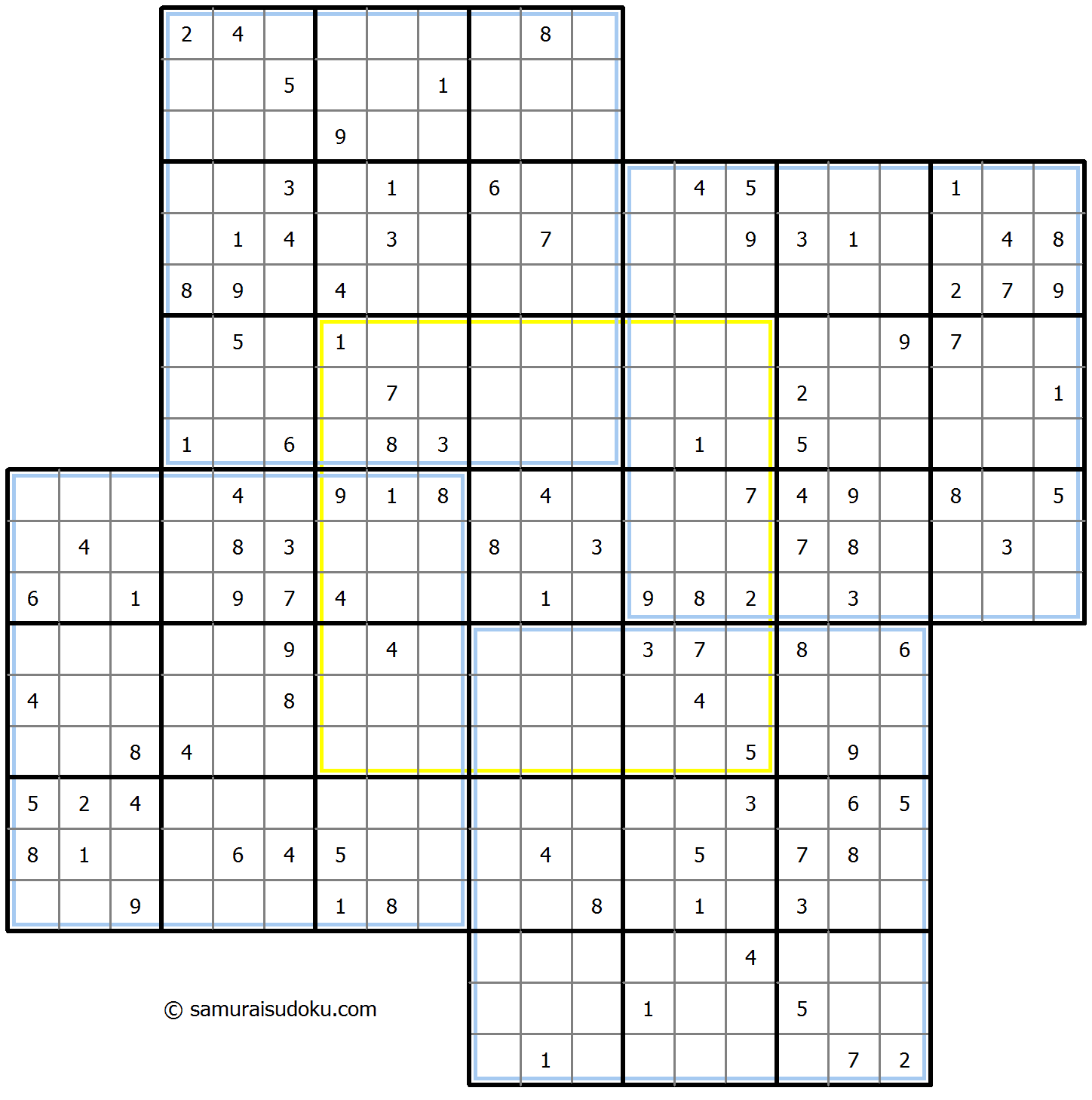 Windmill Sudoku 25-August-2020