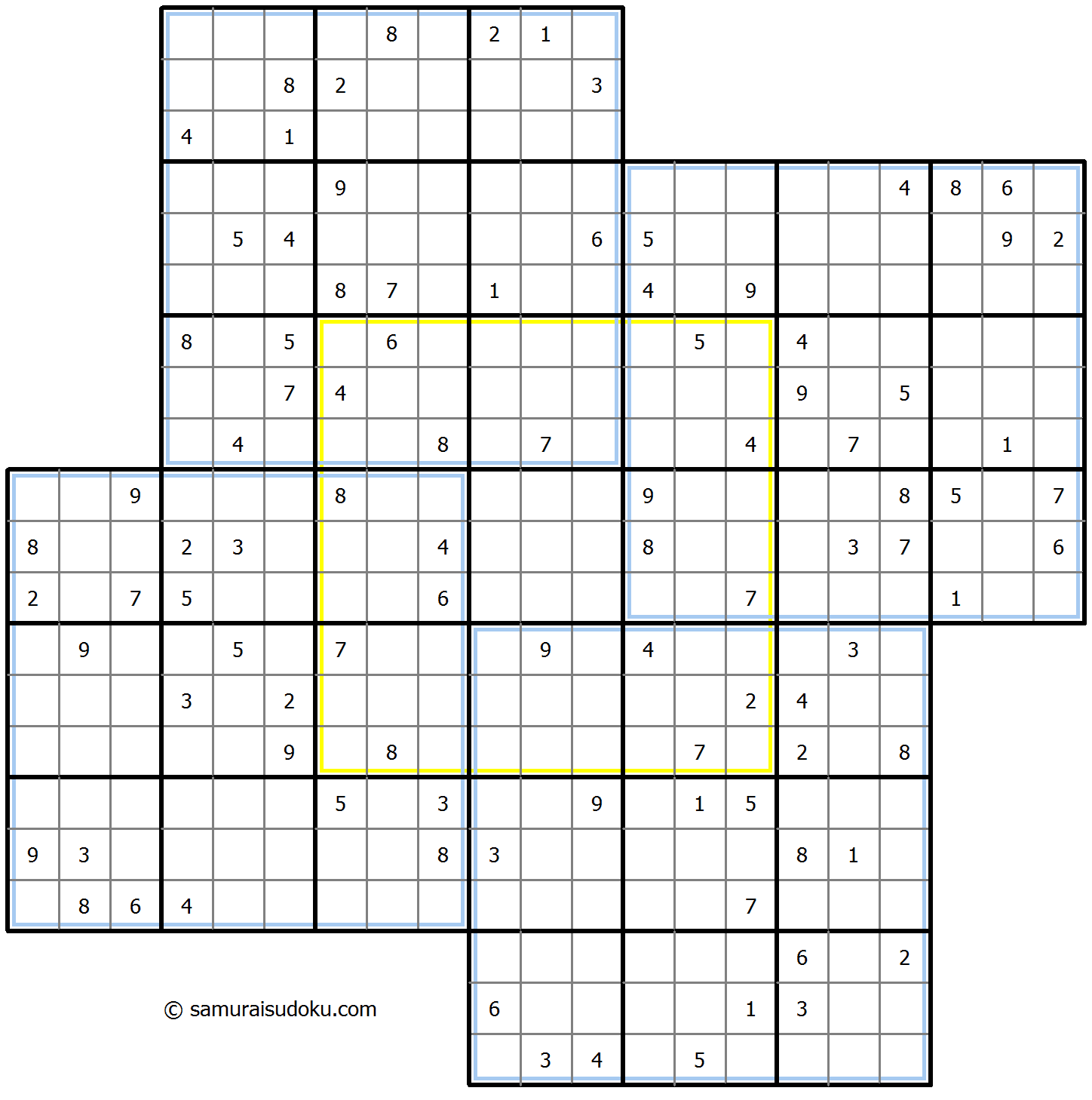 Windmill Sudoku 21-January-2021