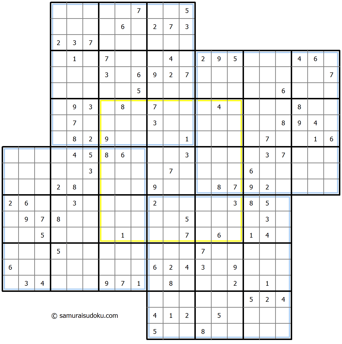 Windmill Sudoku 22-January-2021